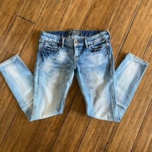 EXPRESS Distressed wash - size: 4 Short